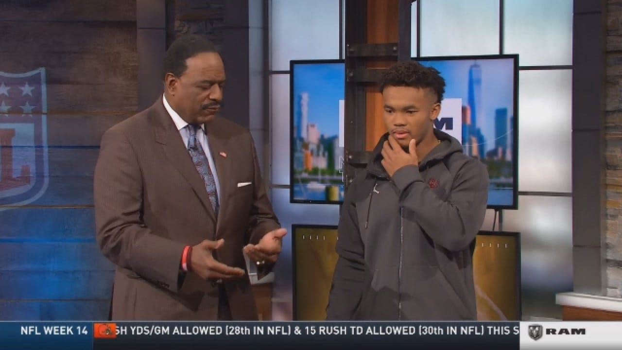 Kyler Murray Asked About Offensive Tweets