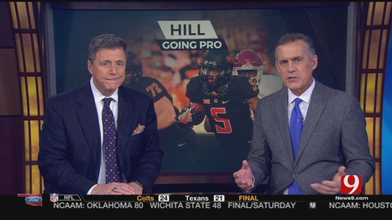 Running Back Justice Hill Sitting Out OSU's Bowl Game