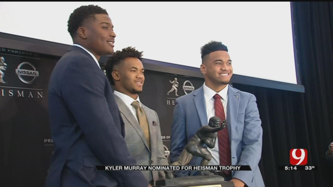 OU QB Kyler Murray In NYC For Heisman Trophy Ceremony