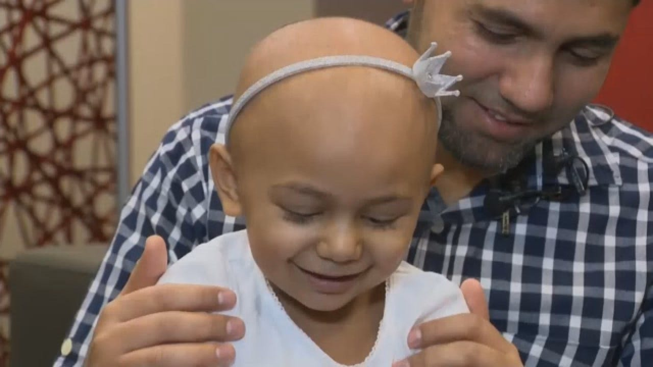 Parents Plead For Donors As 2-year-old Daughter With Rare Blood Type Battles Cancer