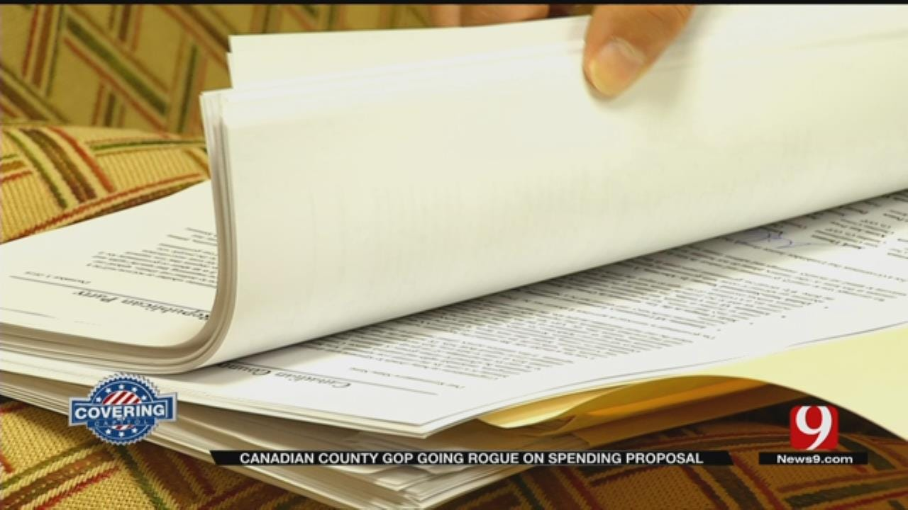 Canadian County GOP Going Rouge On Spending Proposal