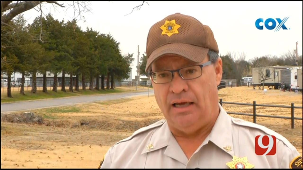 Officials Hold Press Conference Following Wynnewood Standoff