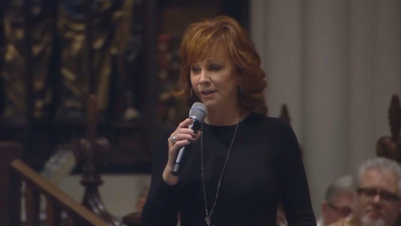 Reba McEntire Sings At Former President George HW Bush's Texas Funeral