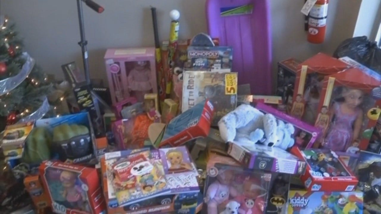 Marines Stationed In Massachusetts Collect Toys For Those In Need