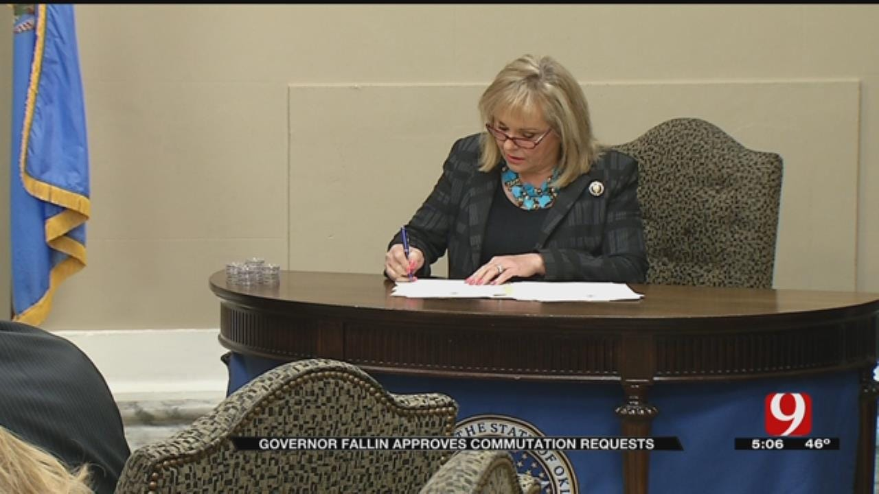 Governor Fallin Commutes Sentences of 21 Non-Violent Felons