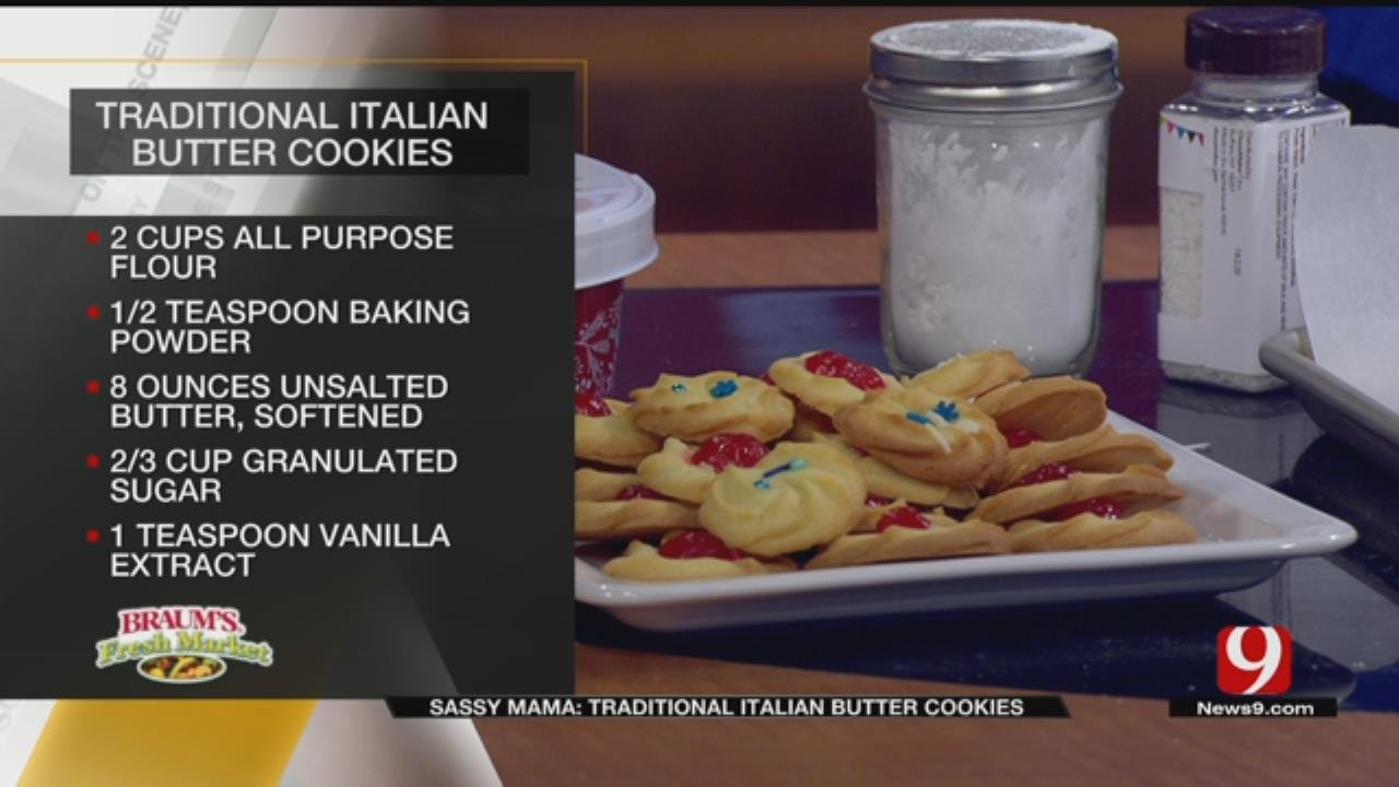 Traditional Italian Butter Cookies