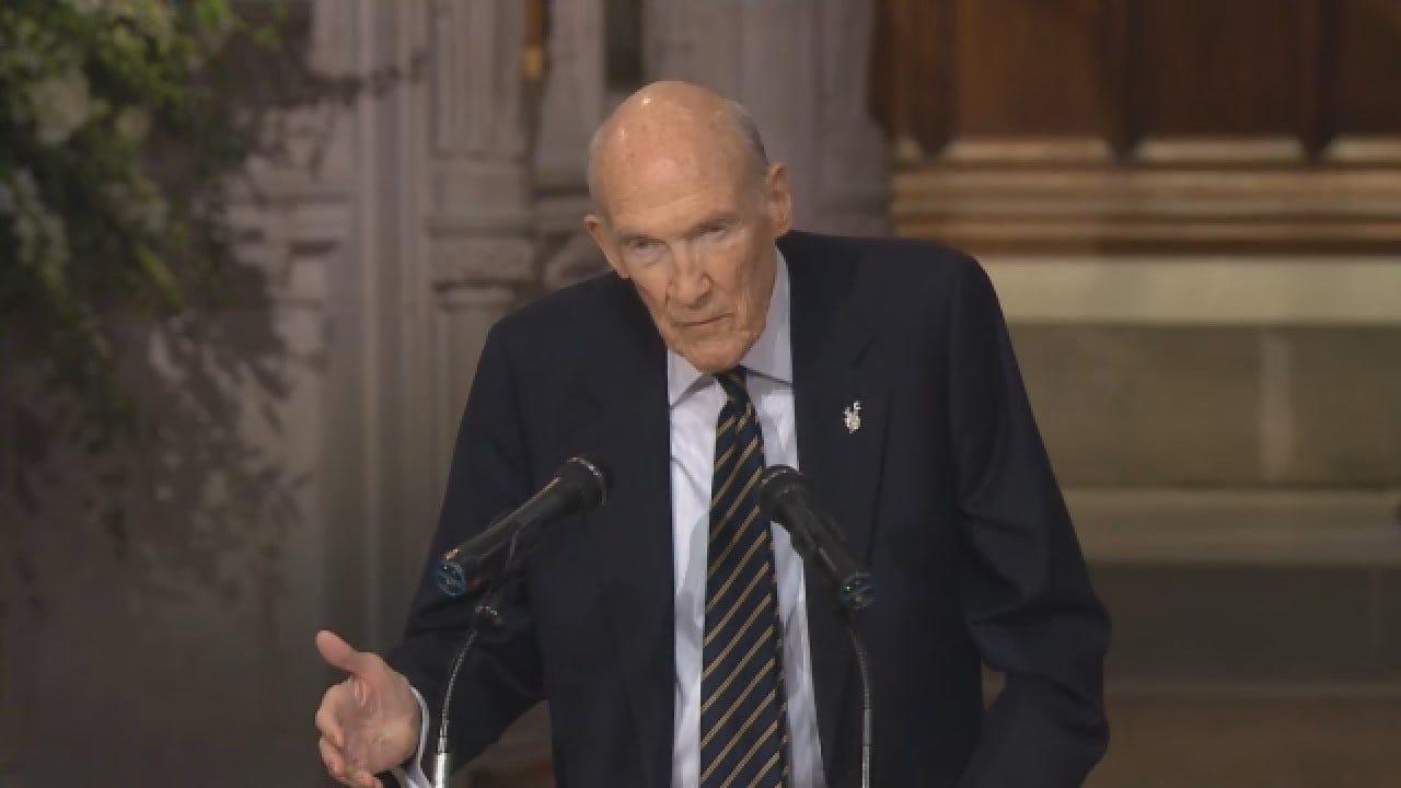 Former Sen. Alan Simpson Reminisces His Friend, President HW Bush