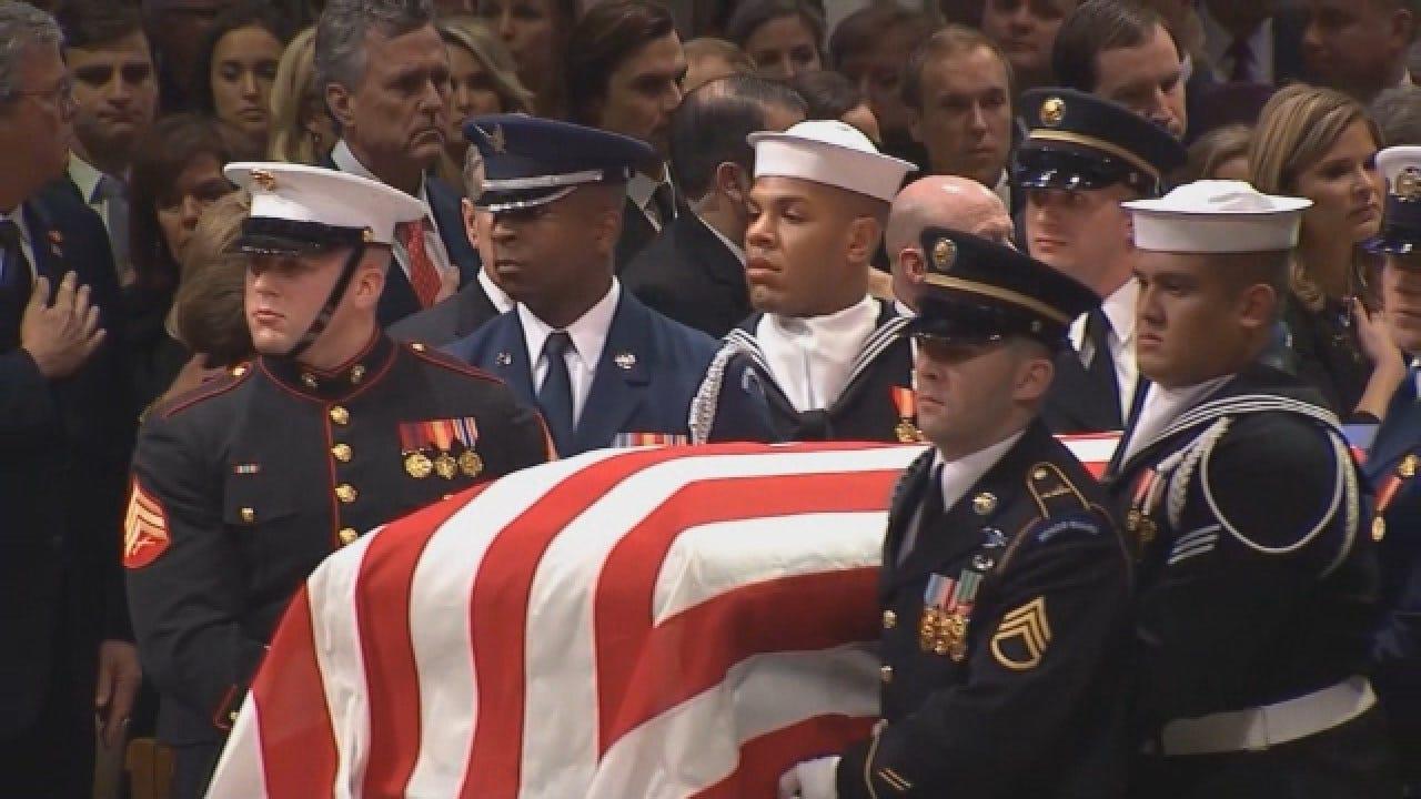 Washington Says Goodbye To Former President George HW Bush At His Funeral