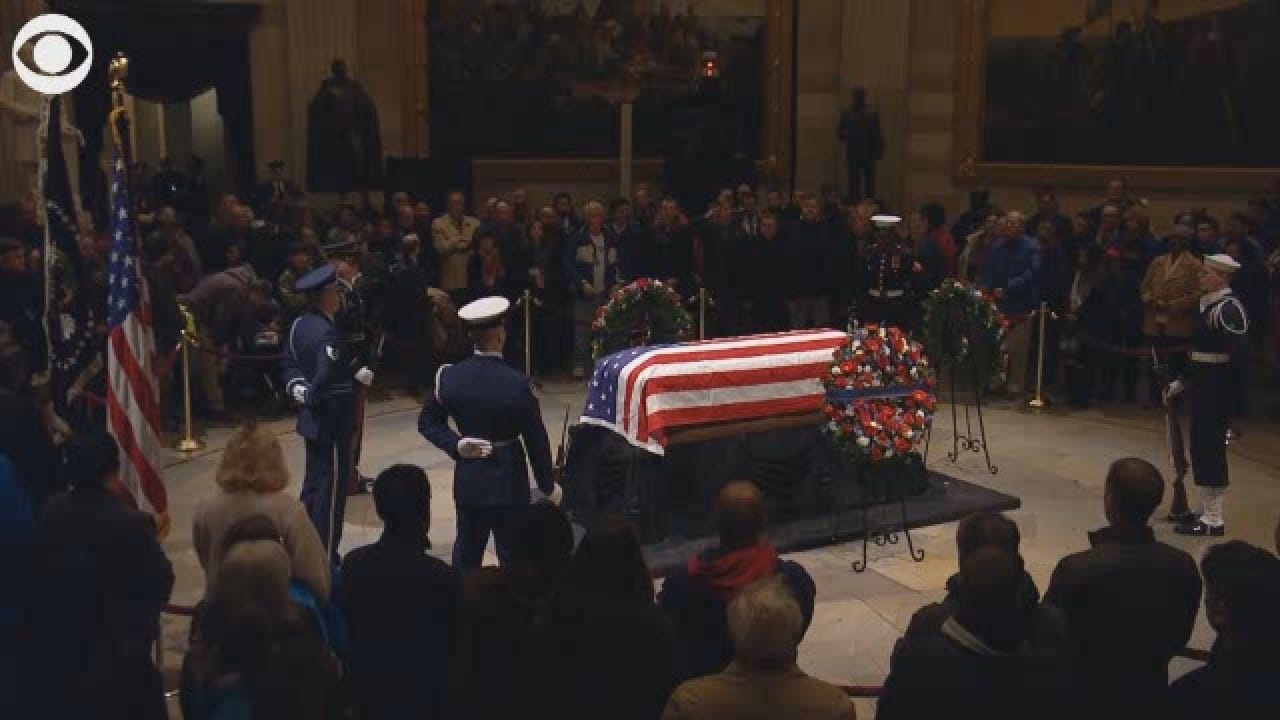 National Day Of Mourning For Former President George HW Bush