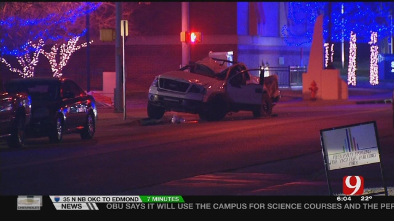 Suspects Crash During Pursuit With OKCPD
