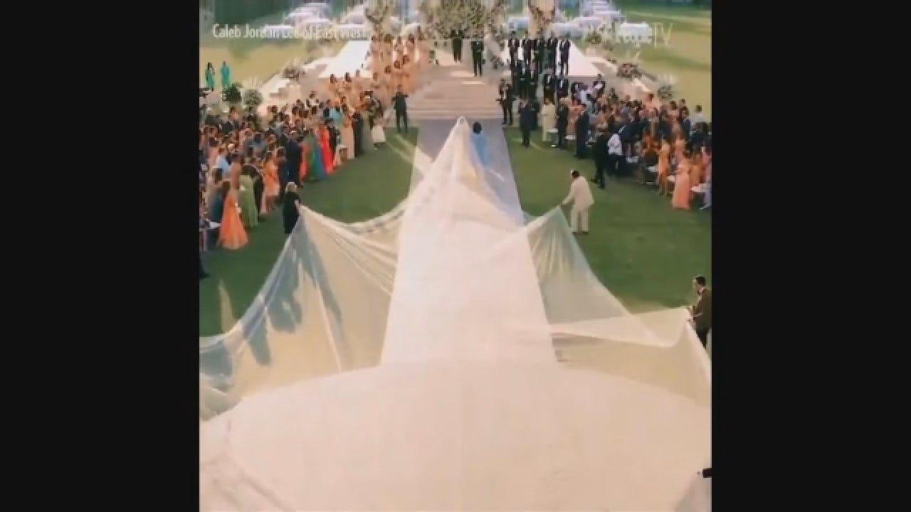 Actress Priyanka Chopra Walks Down The Aisle During Her Wedding To Singer Nick Jonas