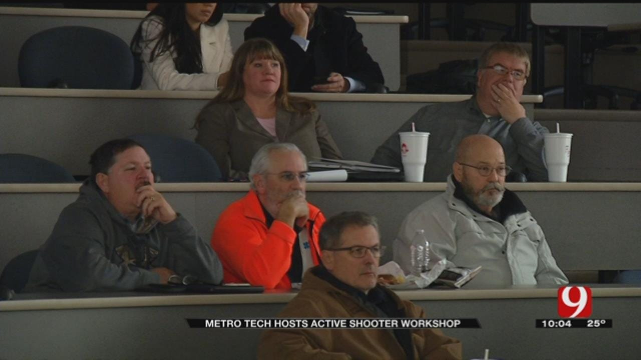 Company Hosts Active Shooter Workshop In OKC