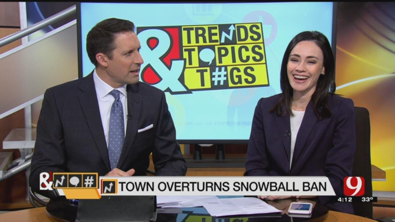 Trends, Topics & Tags: Snowball Ban Overturned