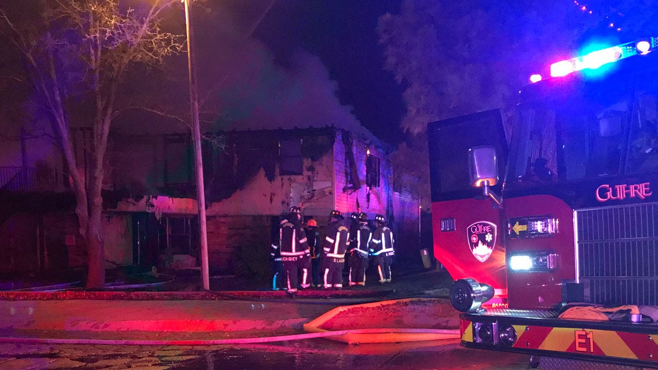 1 Dead, 14-Year-Old Missing After Fire At Guthrie Apartment Complex
