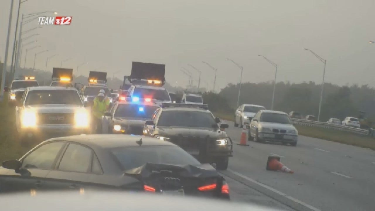 GRAPHIC WARNING: Trooper Gets Hit By Vehicle In Florida Crash
