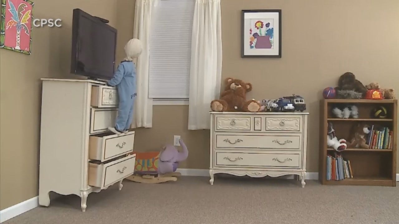 Thousands Of Children Sent To ER For Furniture Tipping Accidents