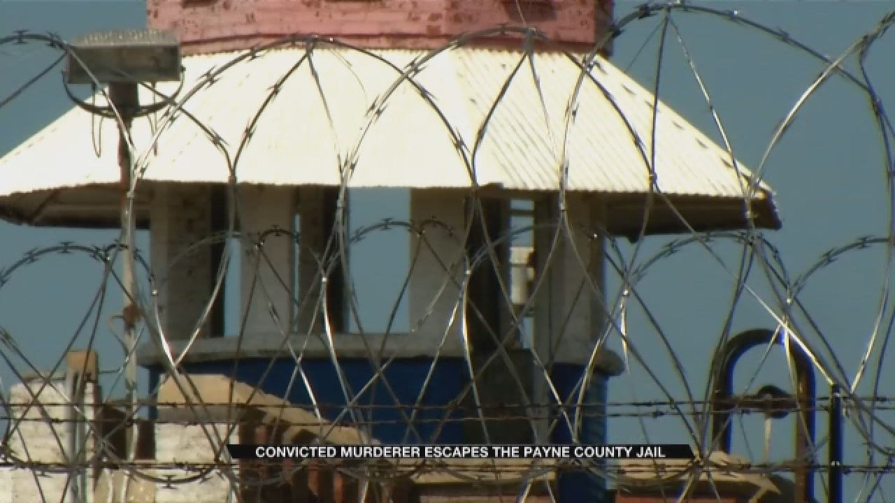 Convicted Killer Escapes Payne County Jail