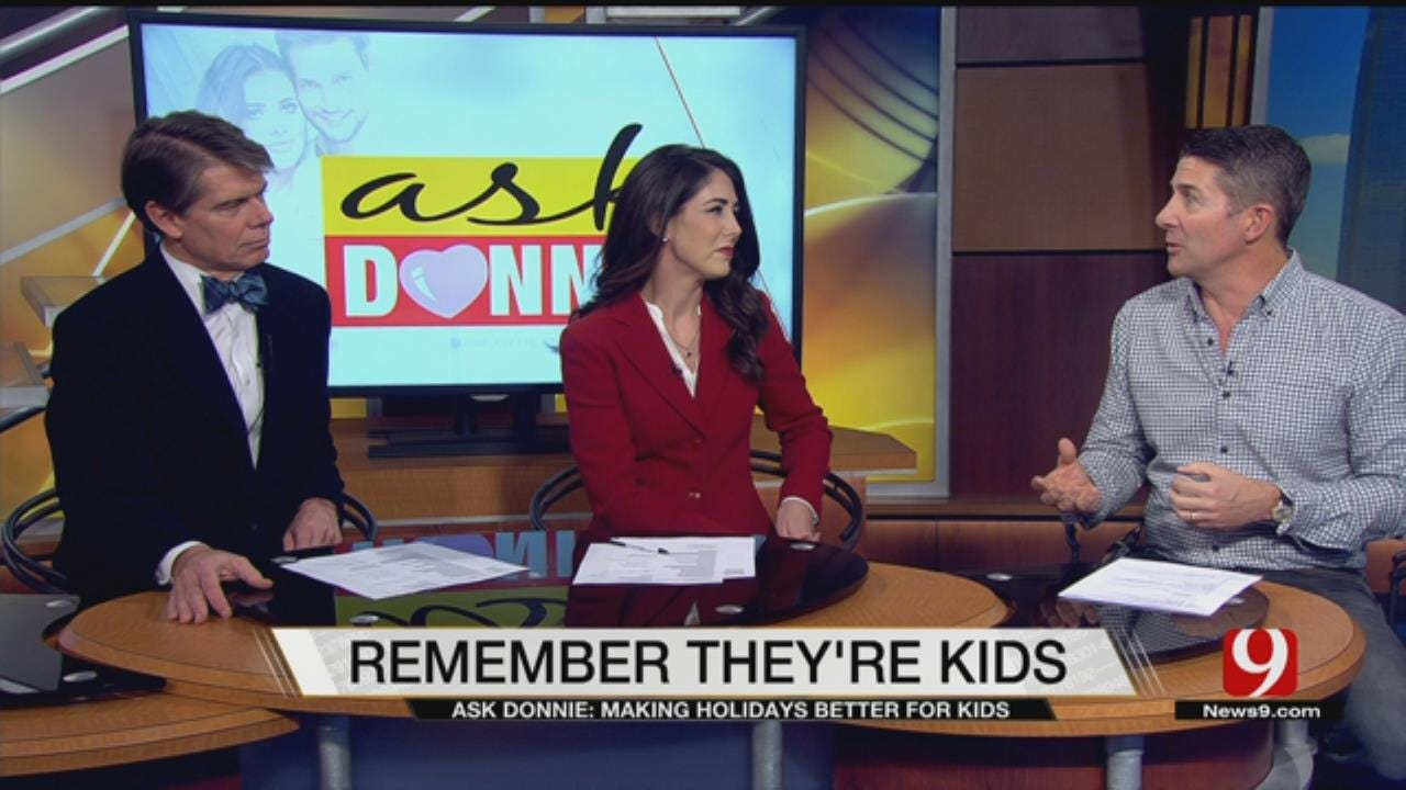 Ask Donnie: Make Holidays Better For Kids