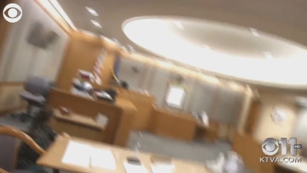 Courtroom Shakes During 7.0-Magnitude Earthquake In Alaska