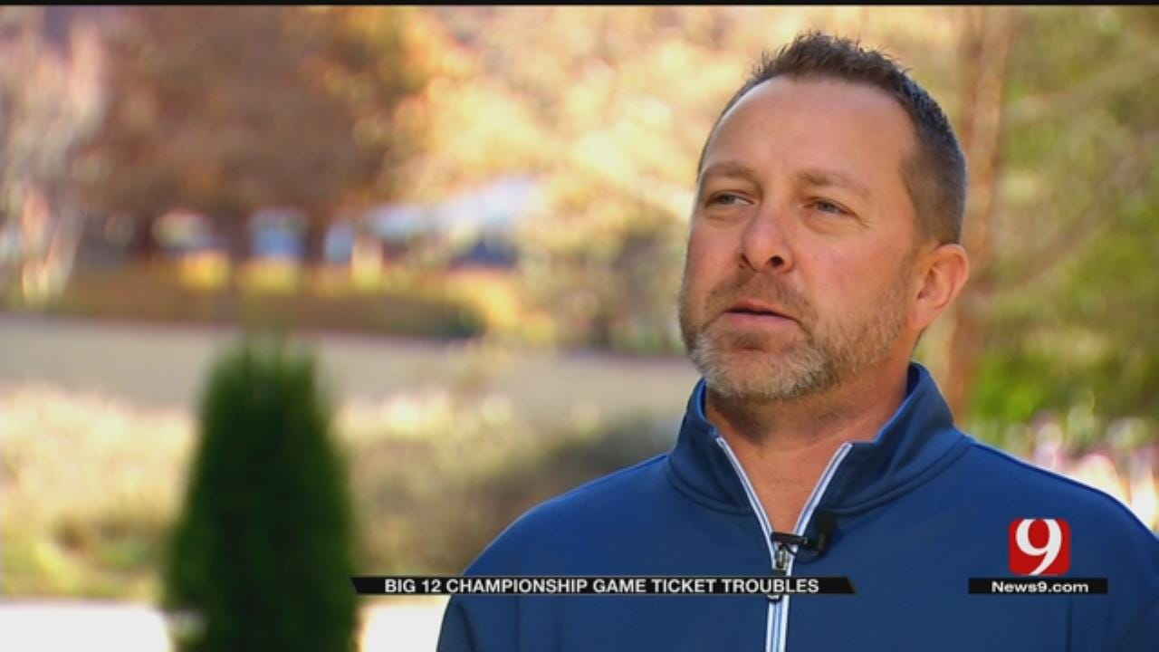 OU Season Ticket Holders Feel Shut Out Of Big 12 Championship Game