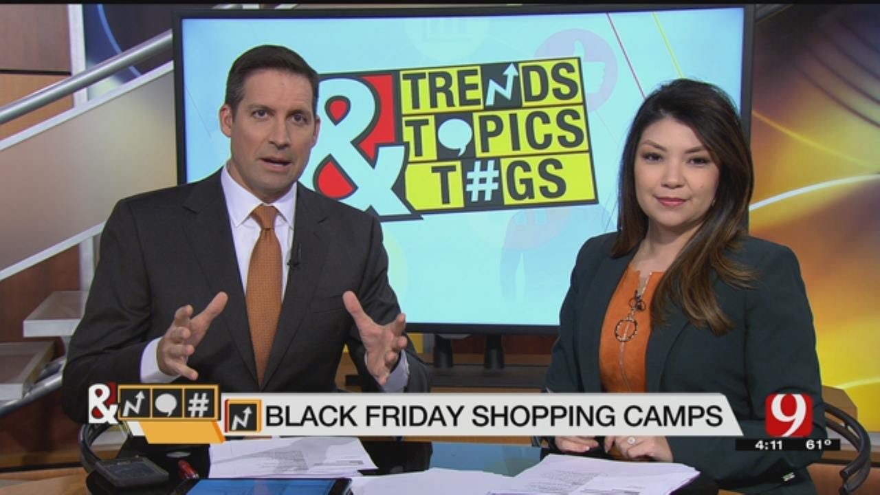 Trends, Topics & Tags: Black Friday Shopping Camps