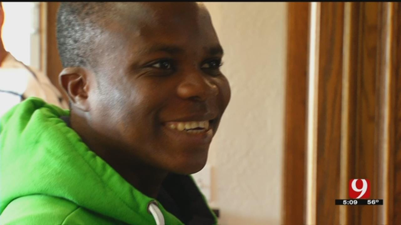 Ivory Coast Teen Experiences First Thanksgiving With New Norman Family