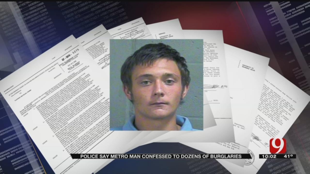 Police Say OKC Man Confesses To Dozens Of Burglaries