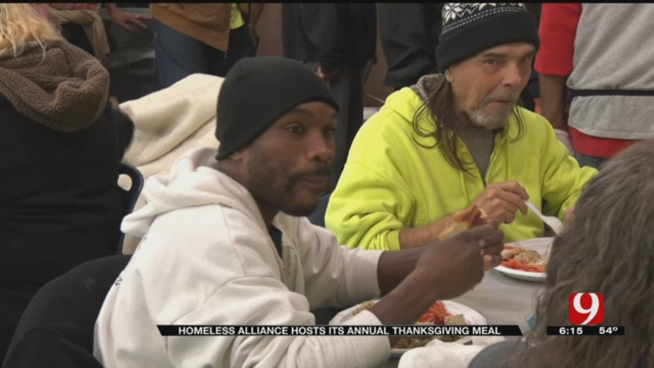 Homeless Alliance Provides Early Thanksgiving To Hundreds Of Hungry Oklahomans