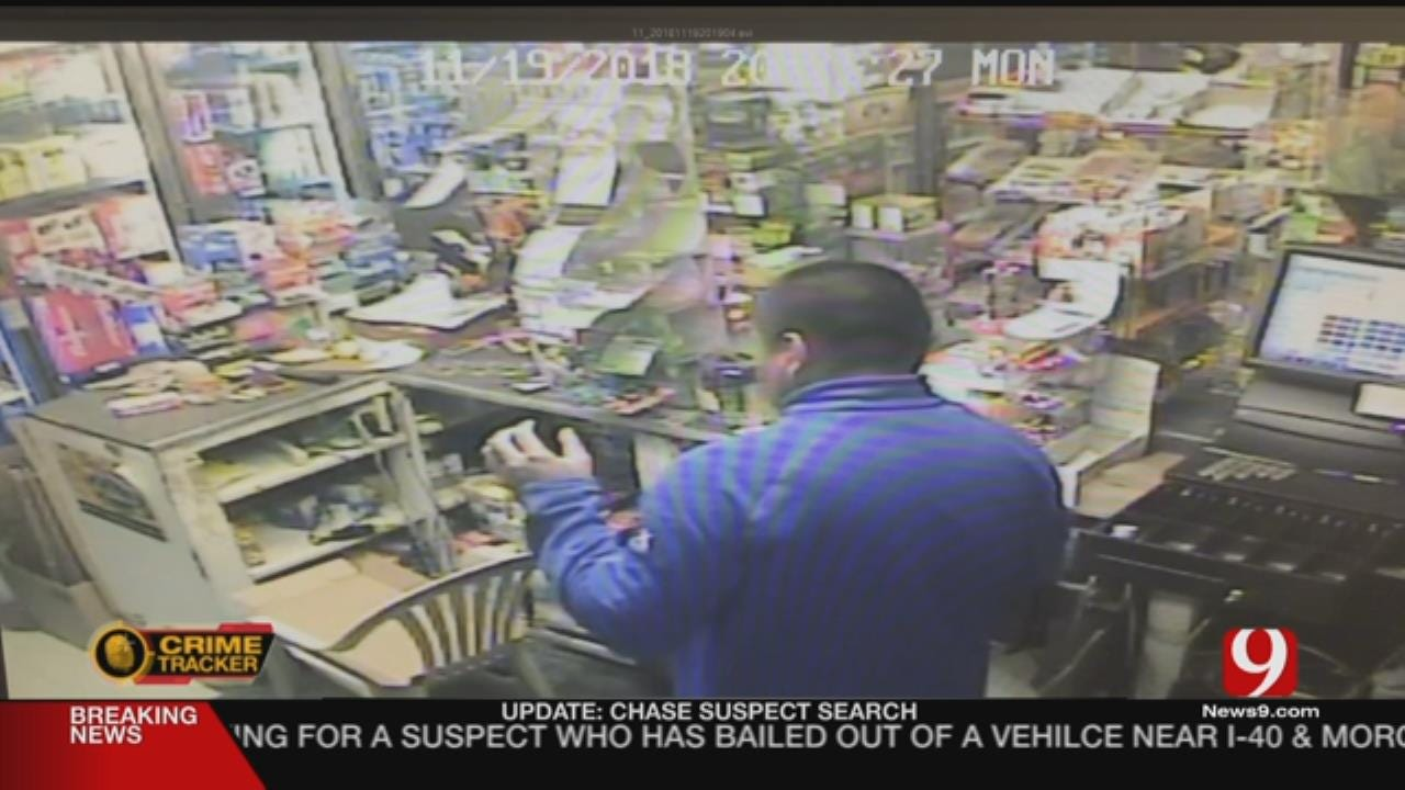 Man Armed With Shotgun Robs OKC Convenience Store For Lottery Tickets