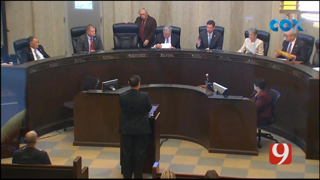 FOP Representative Addressed City Council Regarding Ethics Violation Accusation Against OKCPD Chief Bill Citty