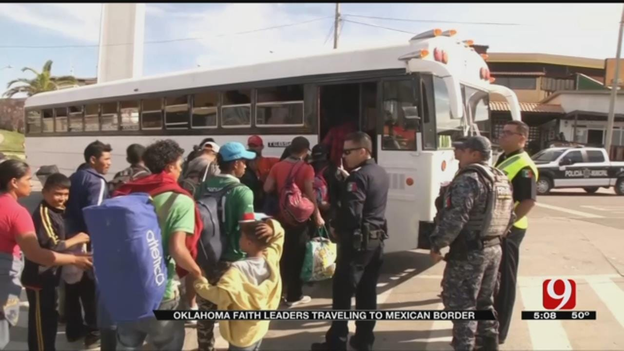 Oklahoma Faith Leaders Travel To Mexican Border