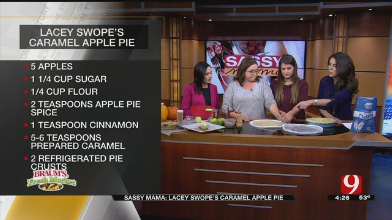 Lacey Swope's Caramel Apple Pie