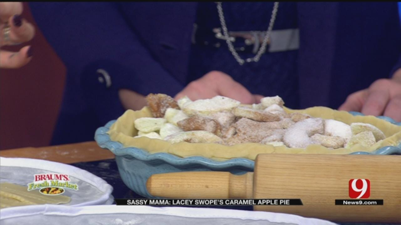 Lacey Swope's Caramel Apple Pie