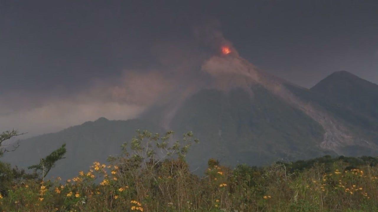Guatemala Volcano Erupts As Residents Flee