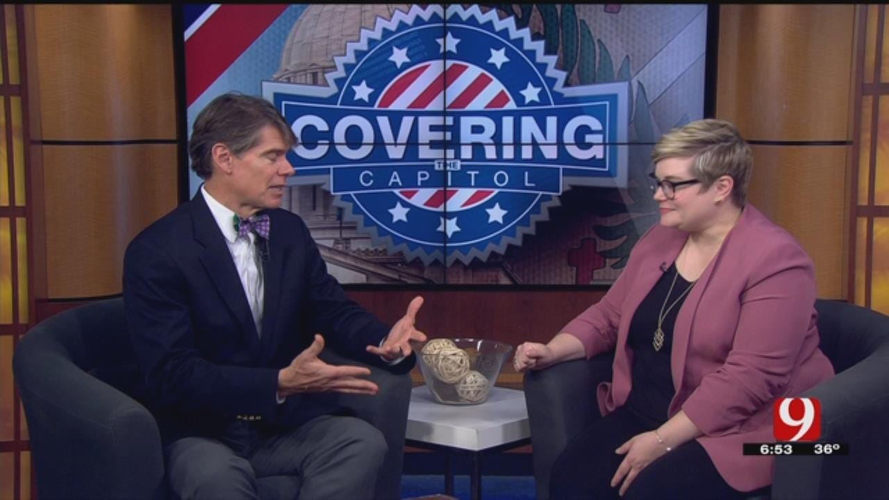Covering The Capitol: Alex Cameron Joined By Democratic Minority Leader, Emily Virgin