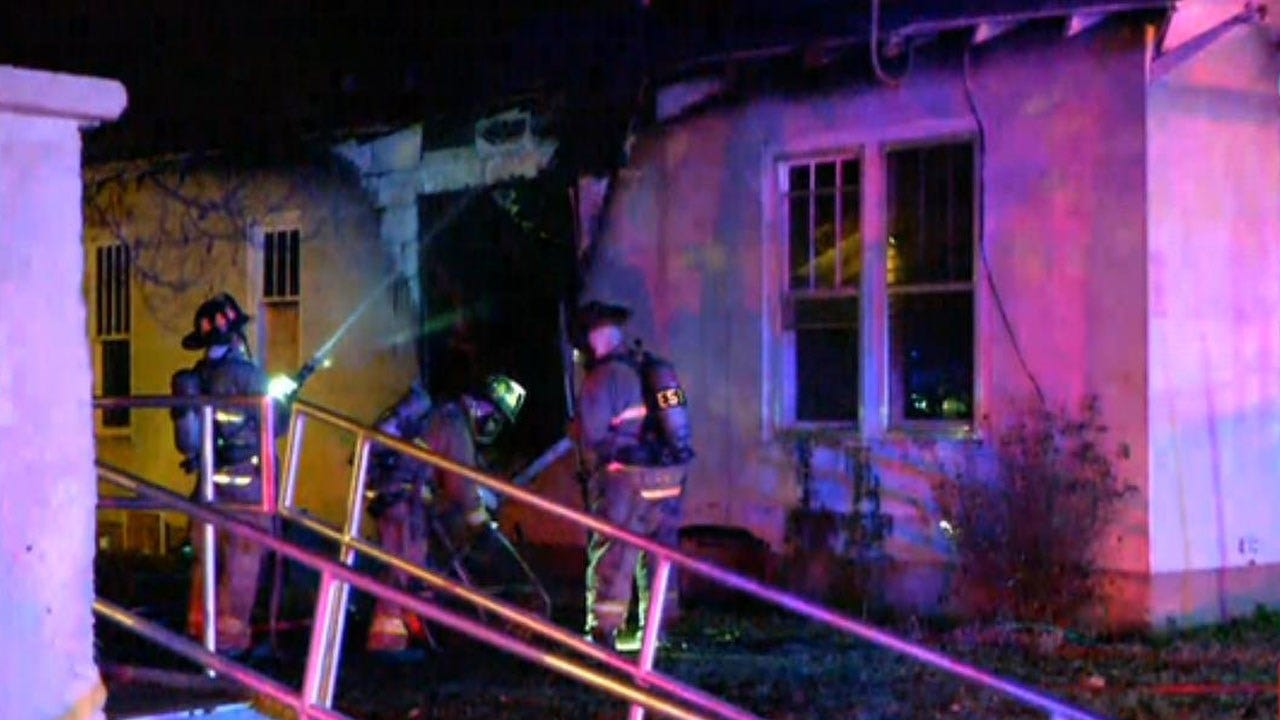 Crews Extinguish Vacant House Fire In NW OKC