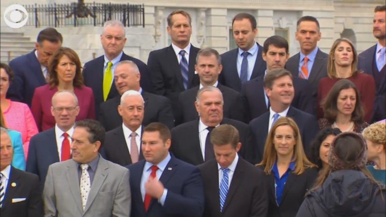 Freshman Class For 116th Congress Gathers For Class Photo