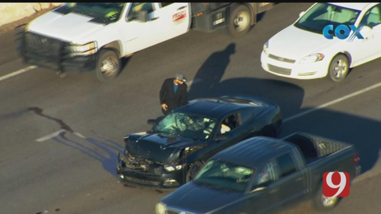 Multi-Vehicle Non-Injury Accident Near NB 144 Near SW 15th