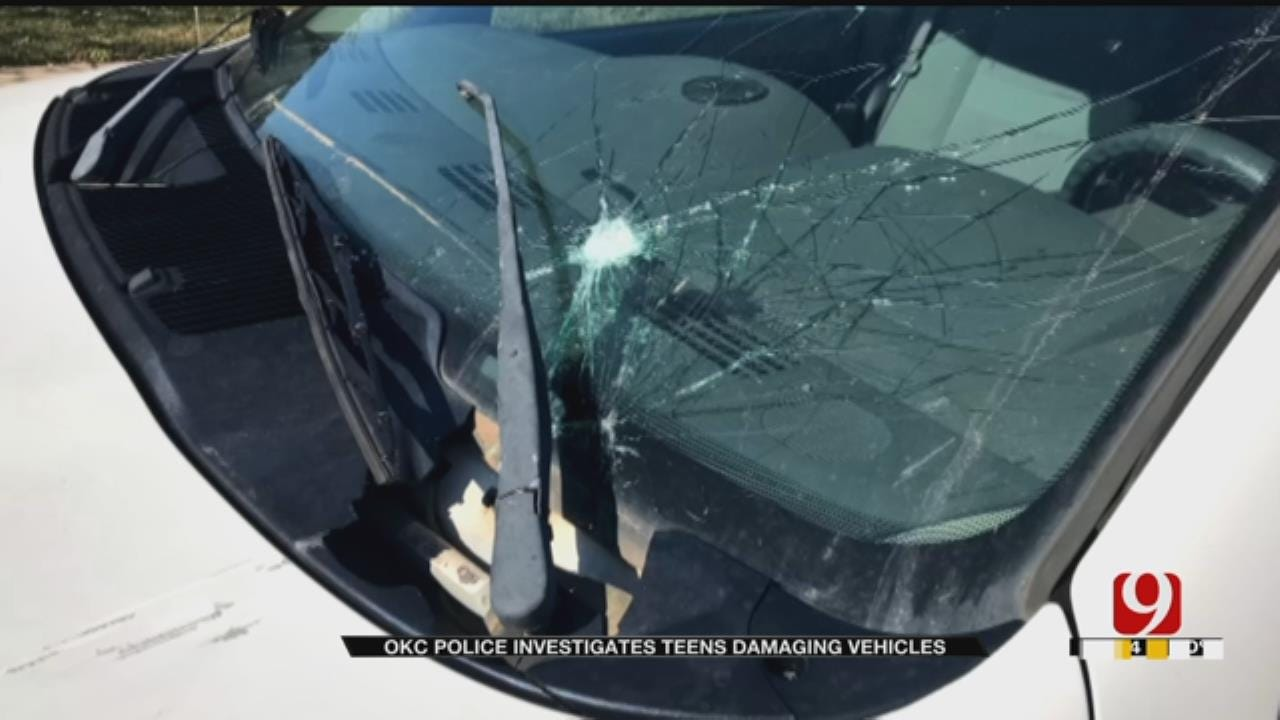Police Identify Oklahoma Teens Seen In Viral Video Damaging Vehicles