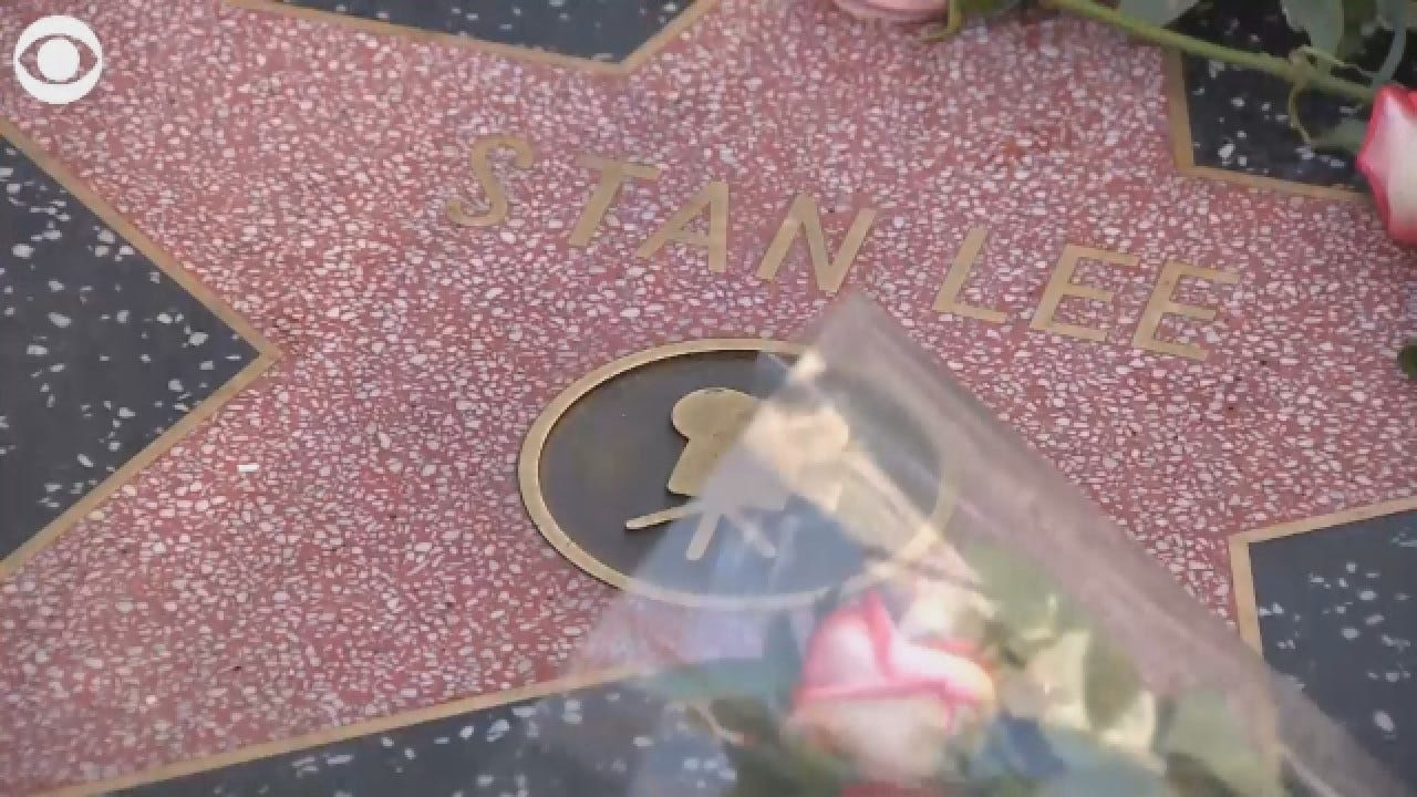 Stan Lee Tribute: Fans Lay Flowers At Stan Lee's Star