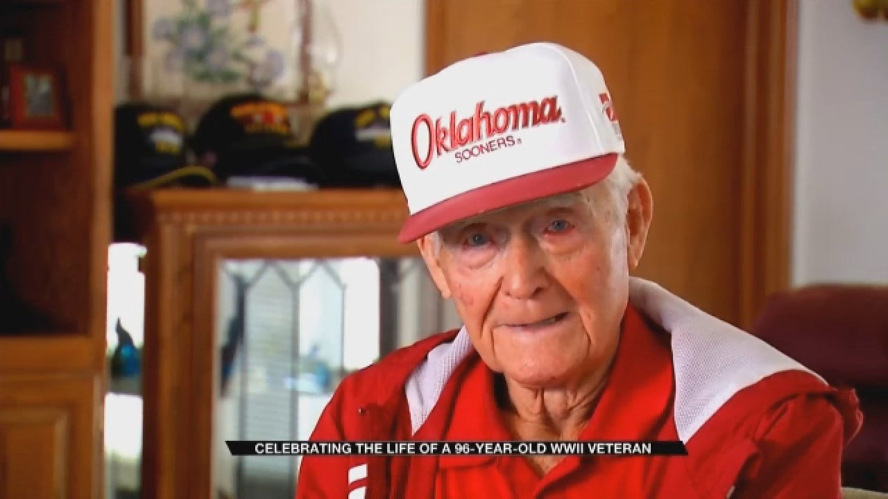 Celebrating The Life Of A 96-Year-Old WWII Veteran