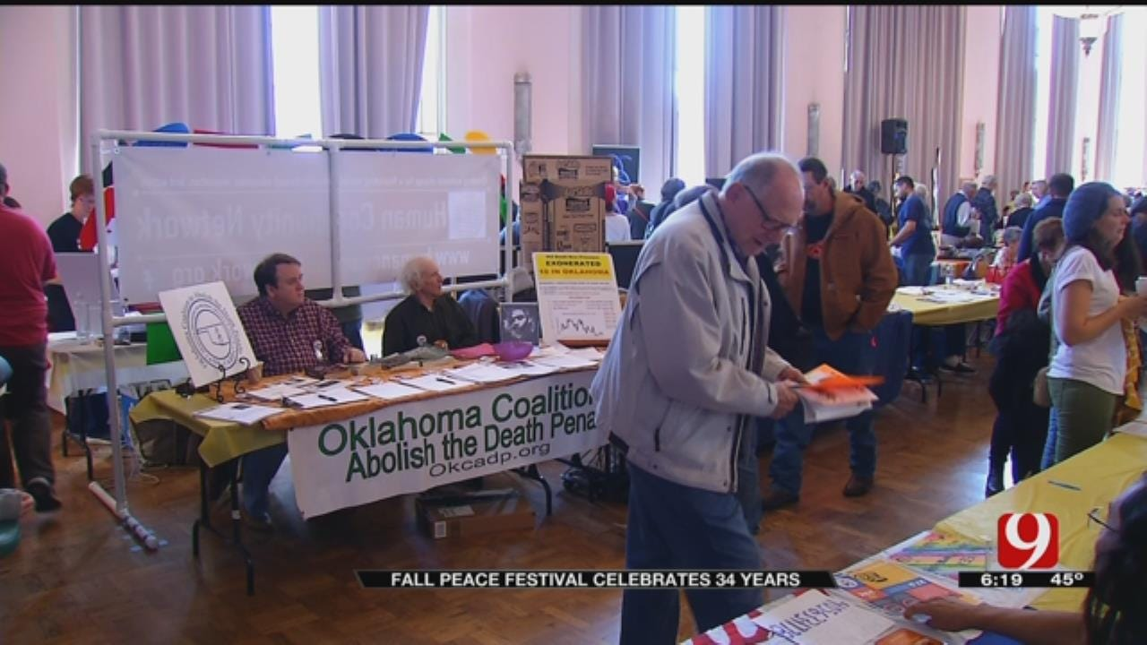 Fall Peace Festival Celebrates 34 Year At OKC Civic Center