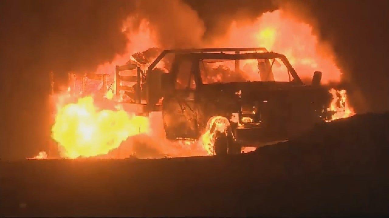 Authorities: 2 People Die In S. California Fire