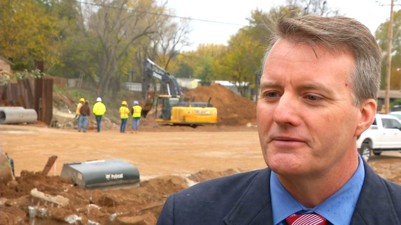 Main St. Bridge Construction In Norman Almost Complete