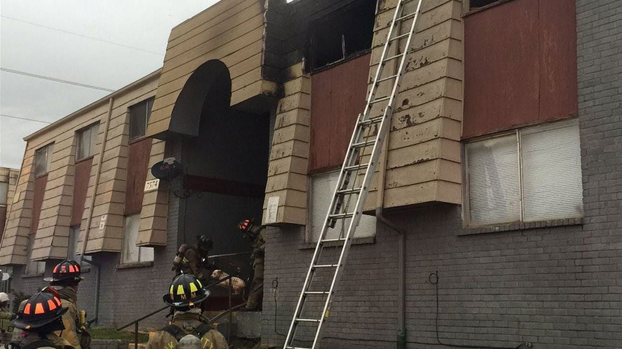 Crews Respond To Apartment Fire In NW OKC