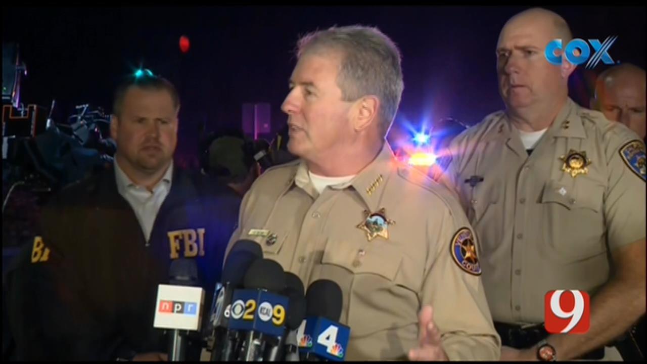 Officials Provide Update On Mass Shooting At California Bar