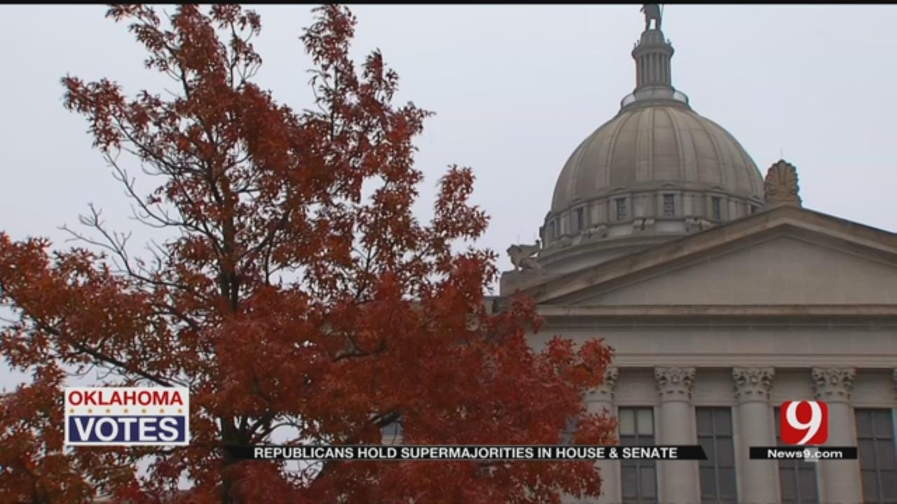 Legislative Breakdown: Oklahoma Republicans Hold Supermajorities In House, Senate