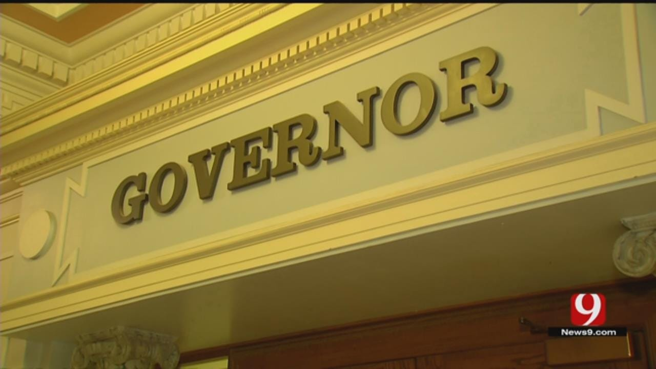 Governor-Elect Kevin Stitt Visits State Capitol