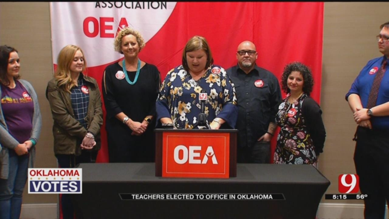 Record Number Of Oklahoma Educators Will Be In Legislature