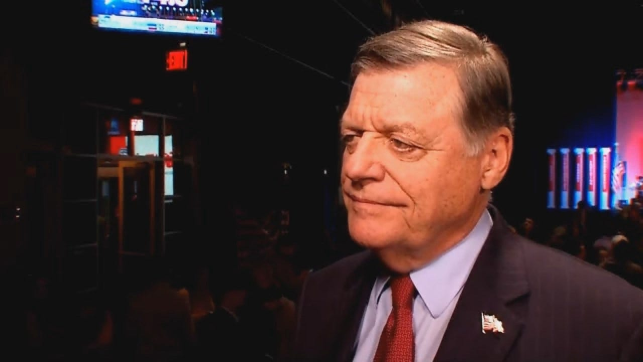 Tom Cole Discusses National Importance Of Congressional Elections